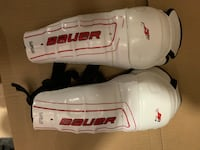 "Bauer shin pads - 9"" Middlesex Centre"
