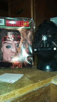 1980s Rambo  costume and Darth Vader  Revere, 02151