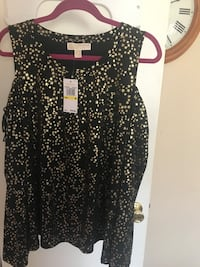 New black and gold top brand MK authentic size M Montgomery Village, 20886