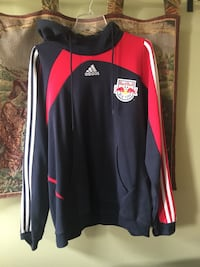 Black and red adidas pullover hoodie jacket Mamaroneck, 10543