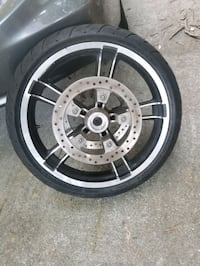 "'14 Harley 19"" rim and tire Virginia Beach, 23464"