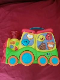Musical train toy