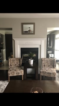 Negotiable--Two accent chairs with two floor lamps Toronto