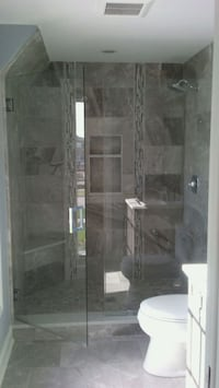 Glass FrameLess Shower Enclosures Installation Waukegan