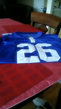 blue and white NFL jersey Virginia Beach, 23464