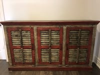 Rustic Cabinet with Great Storage 545 km