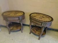 Two Matching Rottan Tables for Sale. Norfolk, 23503