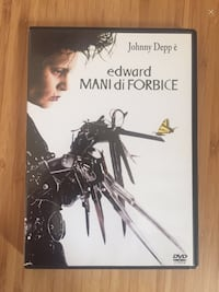 DVD Video Johnny Depp E Custodia Edward Mani di Forbice Roma, 00168