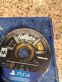 Fallout 4 PS4 game disc