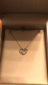 Zales Double Heart Necklace (Broken Chain) Fort Worth, 76244