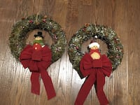 Christmas wreath Vaughan, L4L 1X3