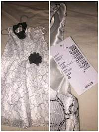 white and black floral dress Irving, 75061