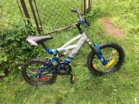 toddler's blue and white bicycle Brant, N3T