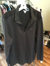 Calvin Klein Half Zip up Pullover Size Large  Burnaby