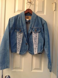 Vintage 80s Denim Jacket Fairfax County