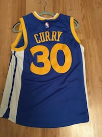 Steph curry jersey Blue S Vancouver, V6P 2T9