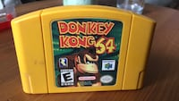 Nintendo 64 Donkey Kong game cartridge Calgary, T2Z 4G2