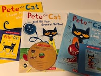 Pete the Cat Book and CD Pack (Book and CD
