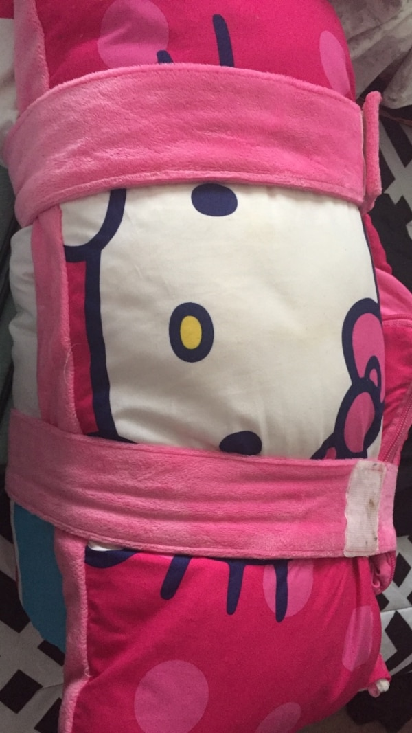 805ede765 Used Hello Kitty sleeping bag w/ pillow for sale in Arcade - letgo