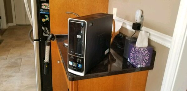 HP Desktop PC with Windows 10, Monitor and More