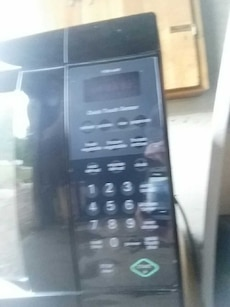 black kenmore microwave oven