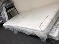 white bed mattress in pack Baltimore, 21231