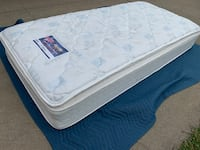 Twin Size Bed ! Mattress only ! Serta Perfect Sleeper pillowtop mattress ! Can deliver  Sacramento, 95838