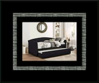 Black Daybed with mattress Alexandria, 22305
