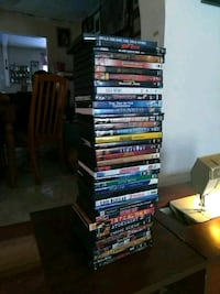 assorted DVD movie case lot Roswell, 88203