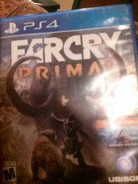 FARCRY Primal Sony PS4 game case