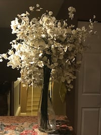 Wedding decor/white artificial Orchids Russell, K0A 1W1
