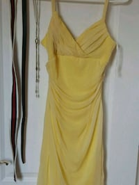 Size 6 yellow dress Montreal, H2G