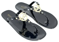 Michael Kors Sandals, Black, Size 8 Mississauga, L5B 3G2