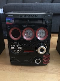 Philips M567 5 mp3 CD loader with PCLink Gothenburg, 414 79