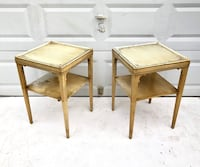 Pair Country Style Painted End Tables Freehold, 07728