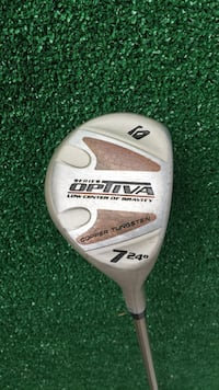 Optiva 24 Degree Golf 7 Wood, Light Flex Houston, 77064