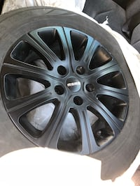 "15"" Matte Black Momo Winter wheels 5x112 bolt pattern North Las Vegas, 89031"