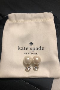 Kate Spade Dainty Sparklers Back Front Earrings - Final Clearence Mississauga, L4Z 1H7