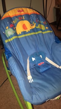 Baby's blue and green bouncer Lockport, 70374