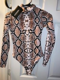 Snake print body suit  Germantown, 20876
