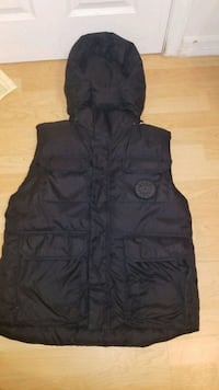 RARE CANADA GOOSE VEST WITH HOODIE BLACK LABEL Vancouver, V5S 1M1