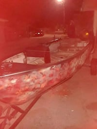 red and white boat with boat trailer Lodi, 95240