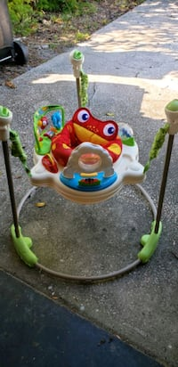 baby's white and green jumperoo Clearwater, 33756