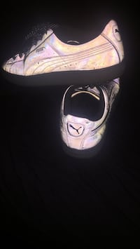 Grey pumas ( light up when u put any flash of light on there) Dallas, 75204