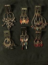 Earrings lot Woodbridge, 22193