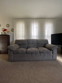 3 piece sofa & reclining chair