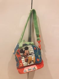 Blue and green plastic toy bag,brand new still with tag Edmonton, T5T 6R3