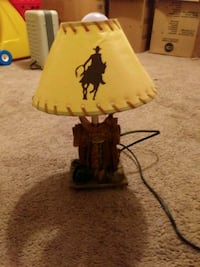 OLD RARE COWBOY LAMP ITS AWESOME IN GREAT CONDITIO Wetumpka, 36093