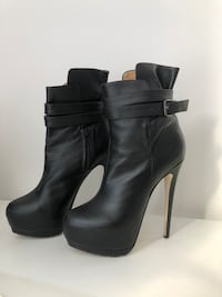 High Booties - Real leather (Size 37 - European) Toronto, M5V 1X2