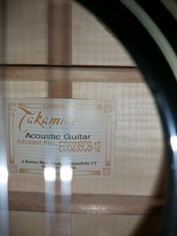 Takamine 12 string like new
